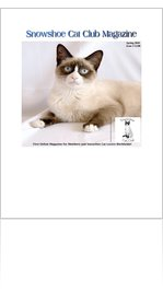 Snowshoe Cat Club Magazine 2010 Edition