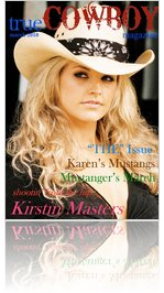 trueCOWBOYmagazine Kirstin Masters March 2010