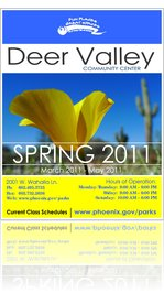 Deer Valley Community Center - Brochure - Spring 2011
