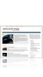 Affluent Page Luxury Cars