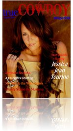 trueCOWBOYmagazine August 2011 Jessica Jean Tourino