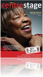 Mavis Staples &quot;The epitome of soul&quot; (Centre Stage Magazine, WINTER 2012)