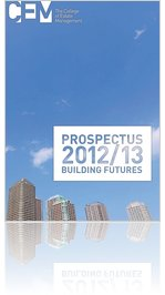 The College of Estate Management - Prospectus 2012/13