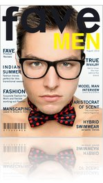 faveMEN magazine August 2012
