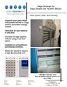 pathology histology storage carousel cabinet