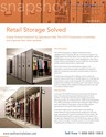 Snapshot: Retail Storage Solved