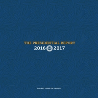 The 2016-2017 Presidential Report