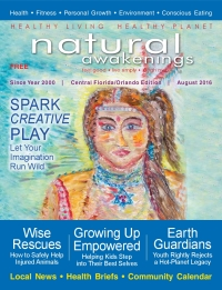 August 2016 Central Florida Natural Awakenings Magazine