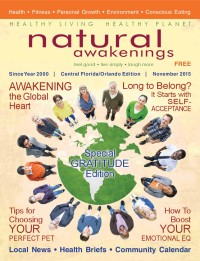 November 2015 Central Florida Natural Awakenings Magazine